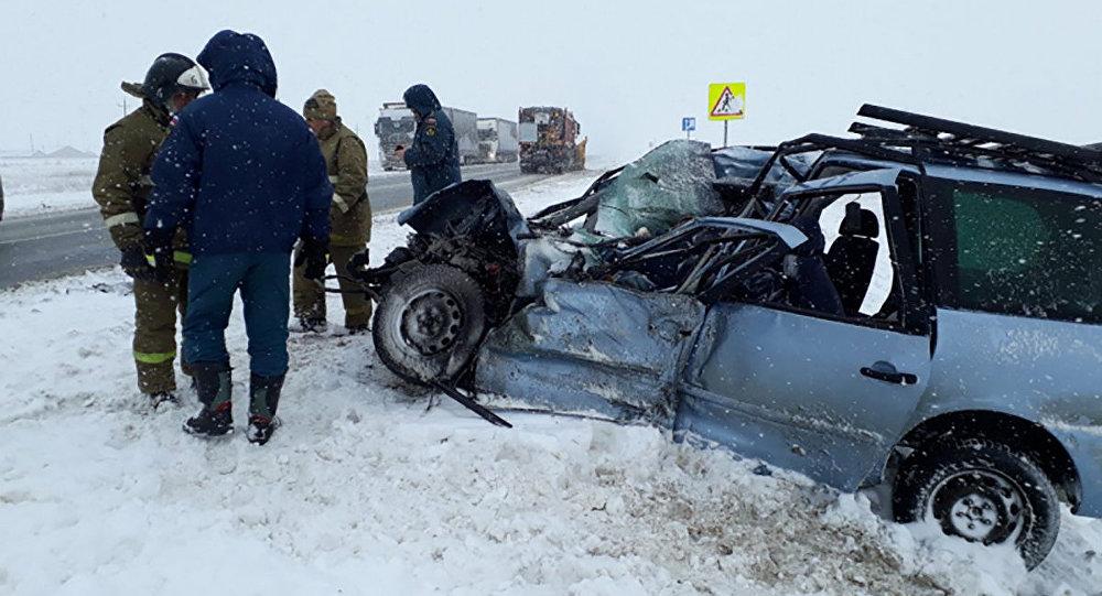 1,3 тыс. человек погибли в ДТП с начала года в Казахстане