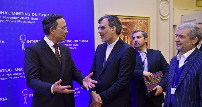 Одиннадцатый раунд переговоров по Сирии, архивное фото