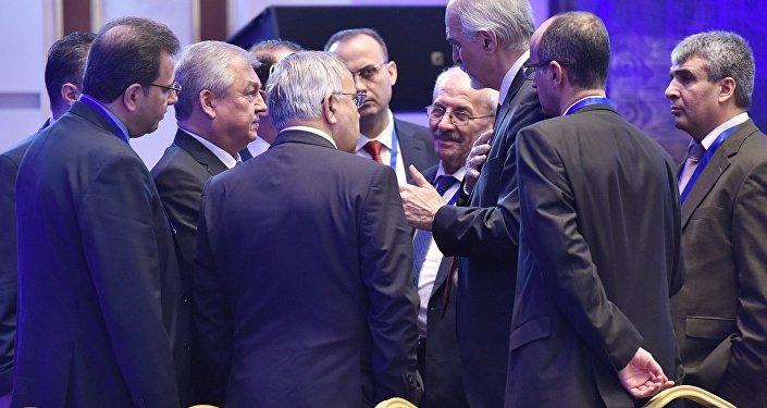 Одиннадцатый раунд переговоров по Сирии в столице Казахстана