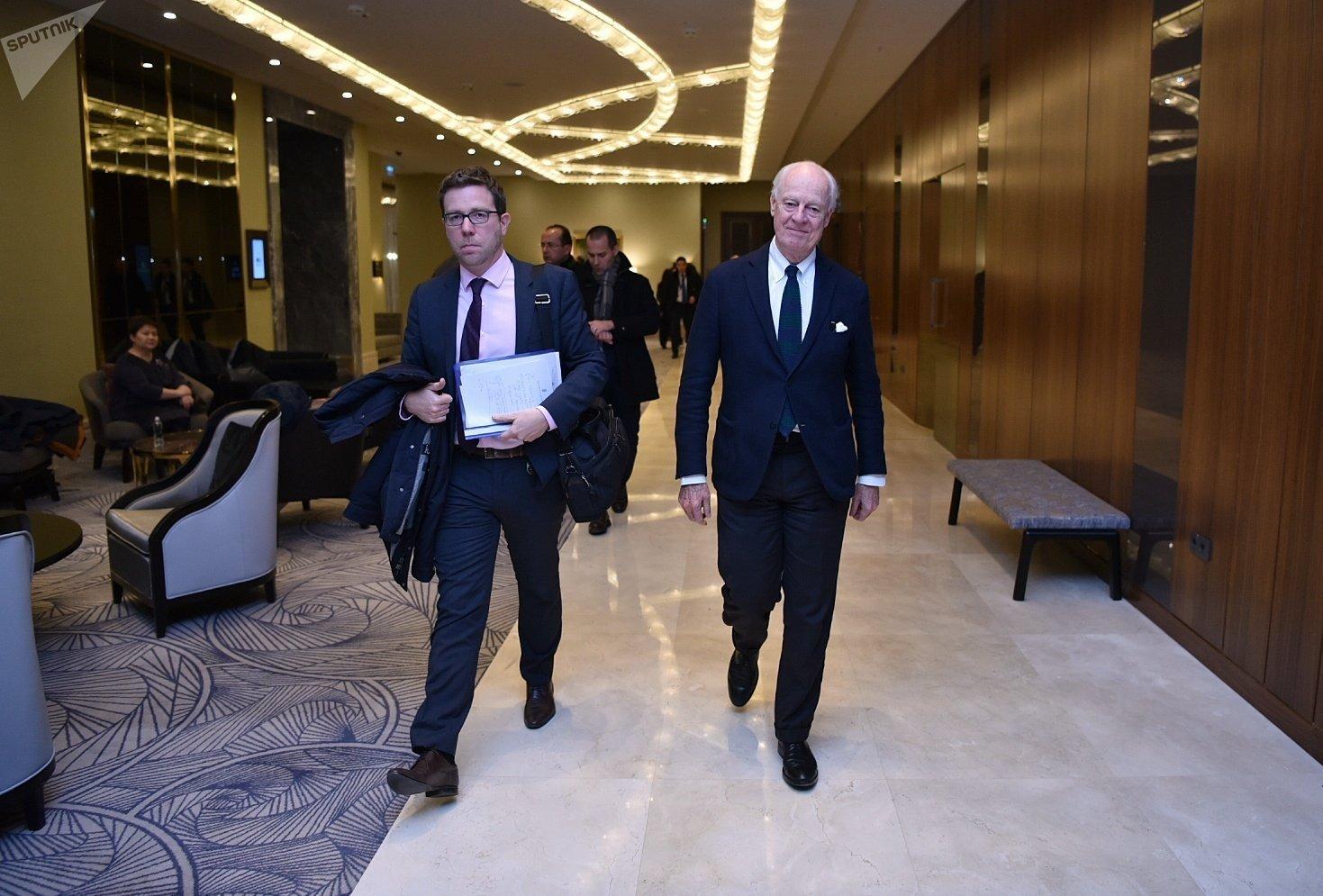 Специальный посланник генерального секретаря ООН по Сирии Стаффан де Мистура