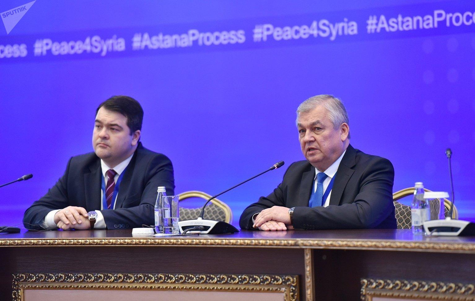 Одиннадцатый раунд переговоров по Сирии в столице Казахстана.