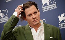 Актёр Джонни Депп на 72-м Венецианском международном кинофестивале. День третий