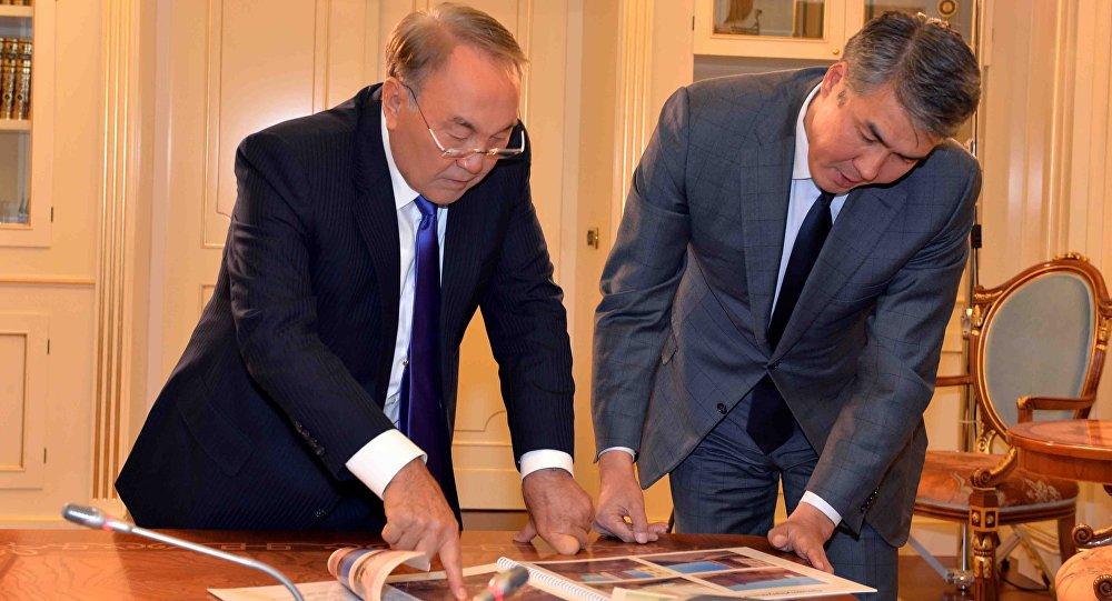 Нурсултан Назарбаев заслушал отчет Асета Исекешева овводе важных объектов Астаны