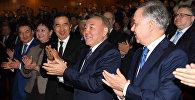 Нұрсұлтан Назарбаев Елбасы жолы. Астана көркем фильмінің премьерасына барды