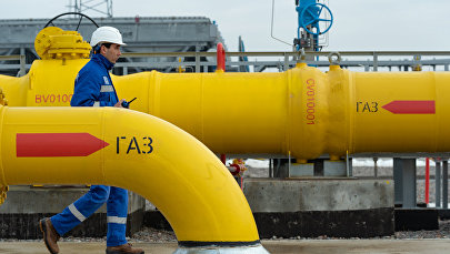 Газопровод, архивное фото