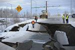Последствия землетрясения на Аляске