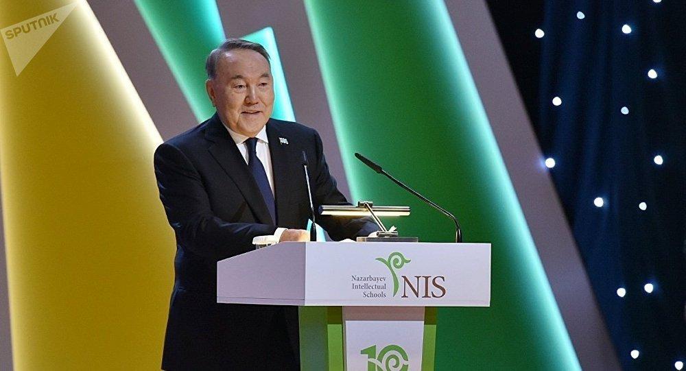 Қазақстан президенті Нұрсұлтан Назарбаев