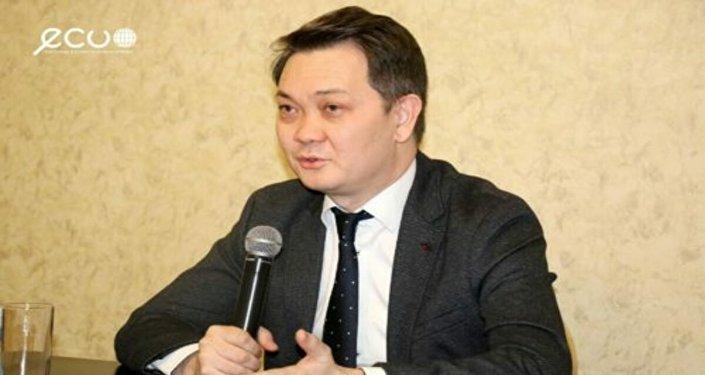 Координатор программ по здравоохранению и питанию Детского фонда ООН (Юнисеф) Канат Суханбердиев