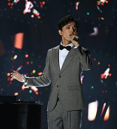 Димаш Кудайберген на концерте Песня года-2018