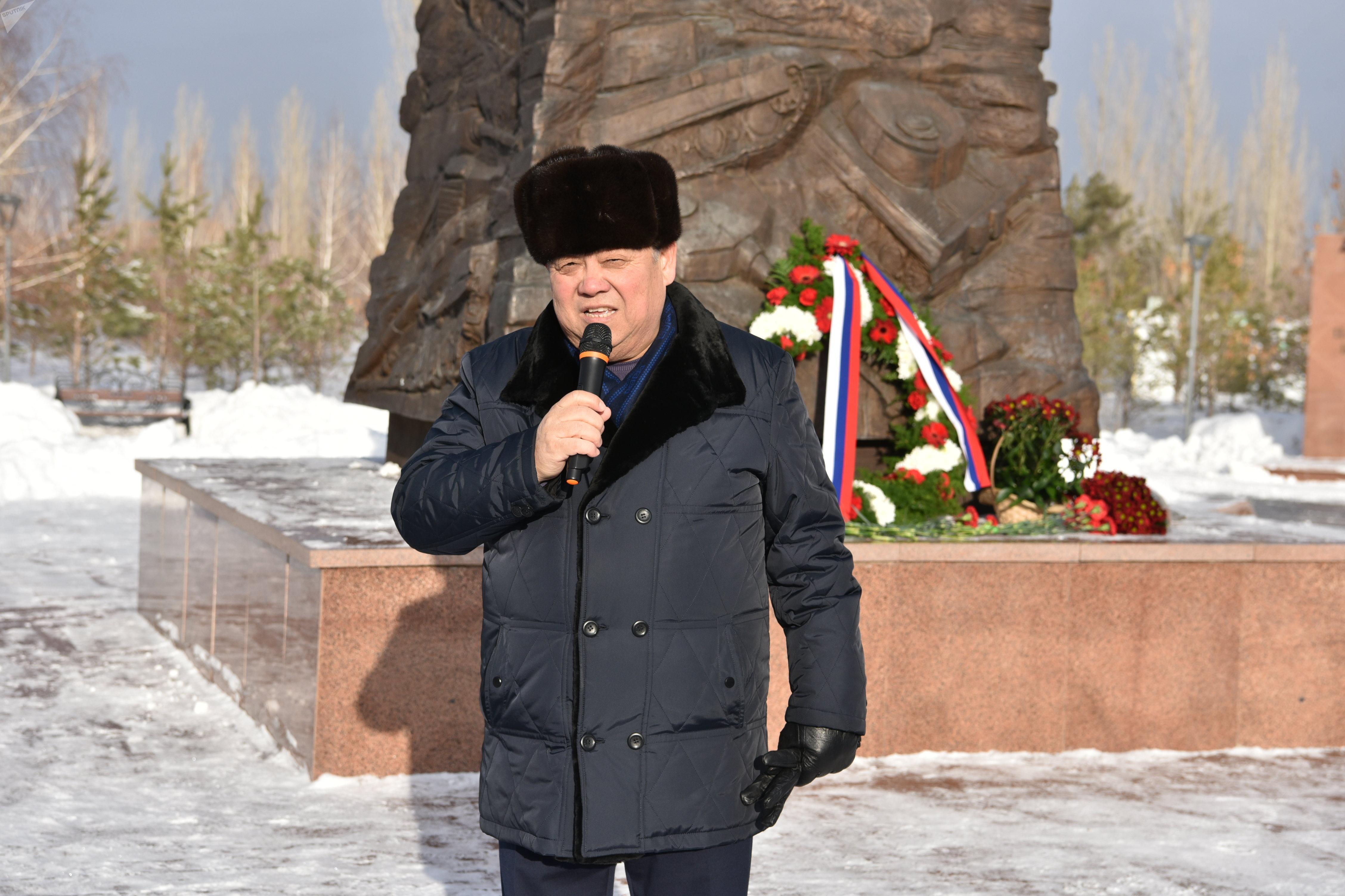 Толеген Мусабеков, внук героя-панфиловца Мусабека Сенгирбаева