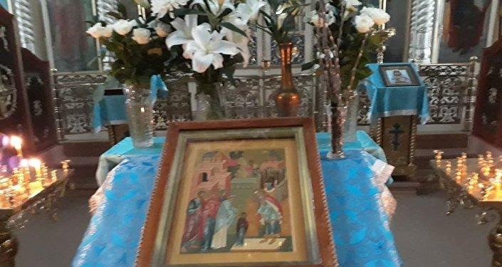 Верба распустилась в Петропавловске накануне православного праздника