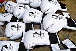 Боксерские перчатки с эмблемой Astana Arlans
