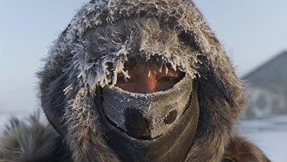Сильные морозы в Якутии
