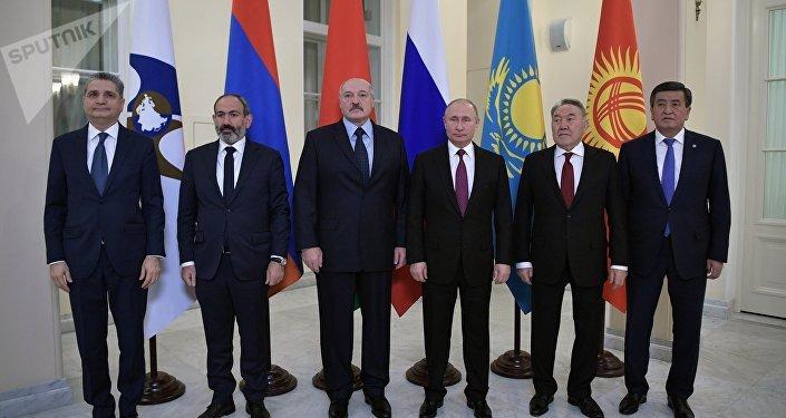 Заседание глав государств-членов ЕАЭС