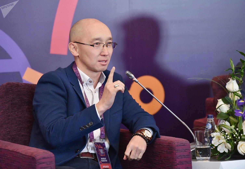 Президент федерации Айкур, экс-замминистра культуры и директор департамента туризма Кыргызстана Максат Чакиев
