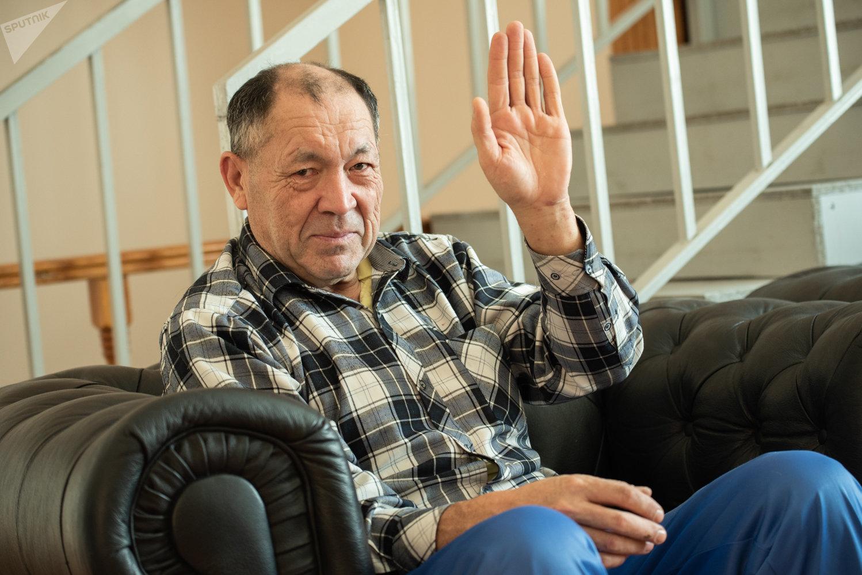 Сергей Александрович, постоялец дома сестринского ухода Забота