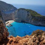 Залив греческого города Закинтос