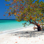 Пляж Seven Mile Beach на Ямайке