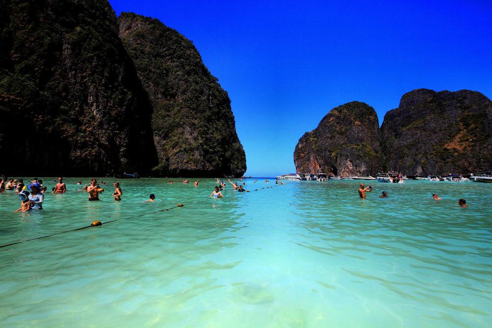 Один из пляжей острова Краби