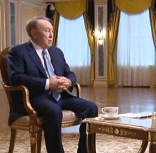 Нұрсұлтан Назарбаевтың Россия 24 арнасына берген сұхбаты – толық видео