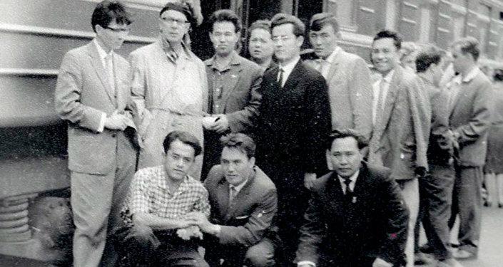 Неопубликованное ранее фото молодого Нурсултана Назарбаева