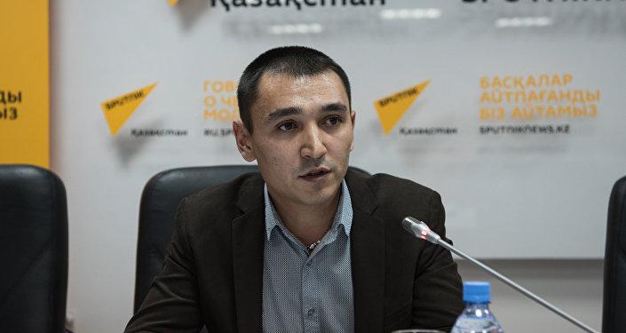 Координатор социальных проектов Благотворительного общественного фонда Дар Рустам Ибрагимов