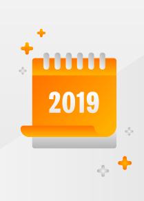 Инфографика: Календарь праздничных и выходных дней на 2019 год
