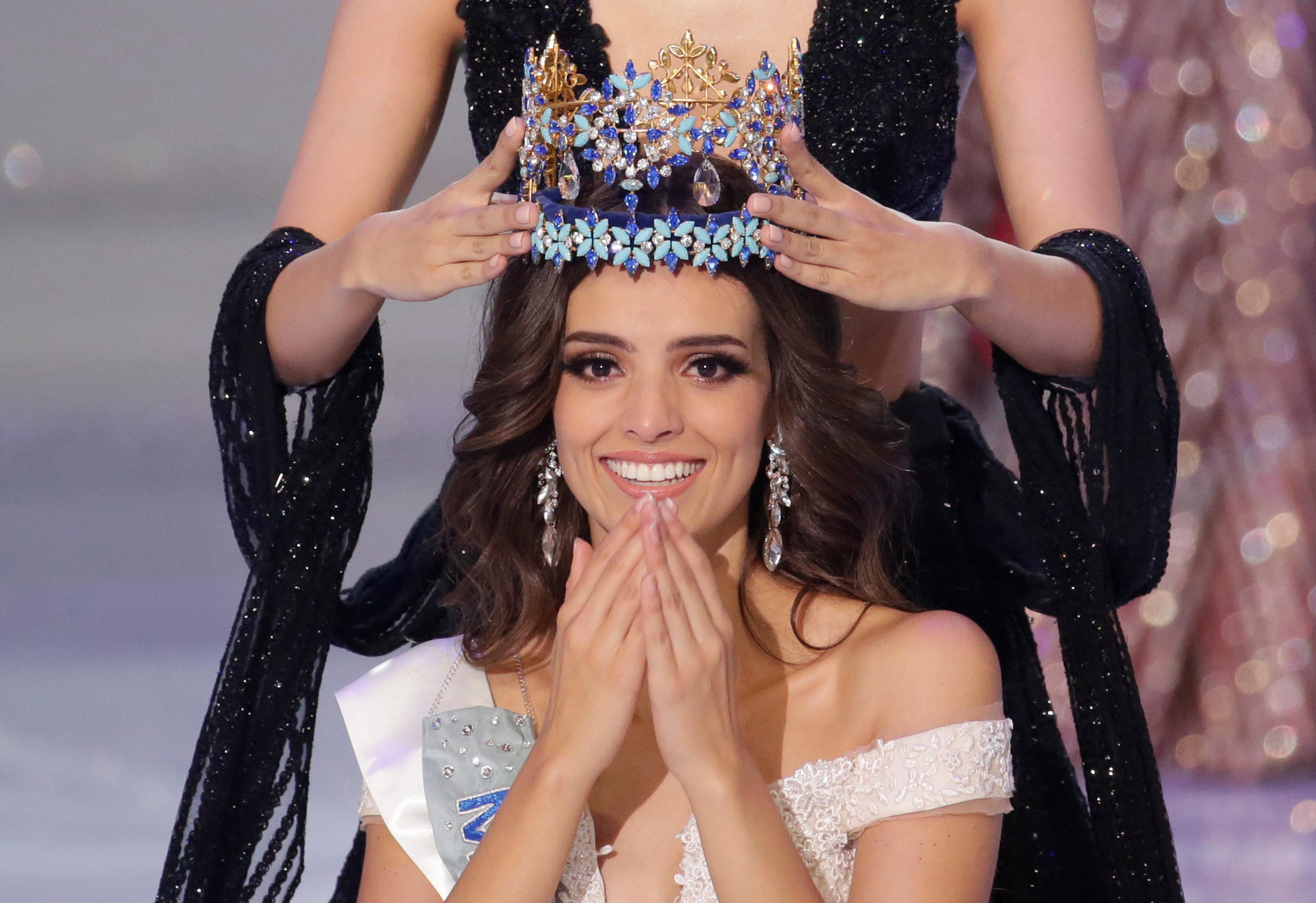 Победительница конкурса красоты Мисс мира-2018 Ванесса Понсе Де Леон