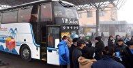 Түркістан-Ташкент автобусы
