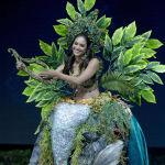 Представительница Перу во время показа национальных костюмов в рамках конкурса Мисс Вселенная 2018 в Таиланде
