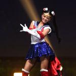 Представительница Японии во время показа национальных костюмов в рамках конкурса Мисс Вселенная 2018 в Таиланде