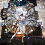 Представительница Сальвадора во время показа национальных костюмов в рамках конкурса Мисс Вселенная 2018 в Таиланде
