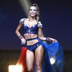 Представительница Франции во время показа национальных костюмов в рамках конкурса Мисс Вселенная 2018 в Таиланде