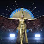 Представительница Казахстана во время показа национальных костюмов в рамках конкурса Мисс Вселенная 2018 в Таиланде