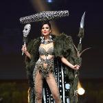 Представительница Чили во время показа национальных костюмов в рамках конкурса Мисс Вселенная 2018 в Таиланде