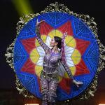 Представительница Филиппин во время показа национальных костюмов в рамках конкурса Мисс Вселенная 2018 в Таиланде