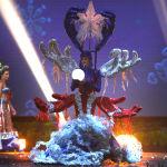 Представительница Пуэрто-Рико во время показа национальных костюмов в рамках конкурса Мисс Вселенная 2018 в Таиланде