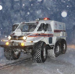 Спасательная техника КЧС Казахстана