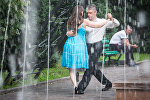 Казахстанские тангерос в Алматы. Фото с выставки Танго любимого города
