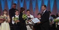 Sputnik наградило специальным призом 13-летнего скрипача Данилу Бессонова - финалиста XIX Международного конкурса юных музыкантов Щелкунчик