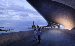 Проект инфраструктуры у статуи Thiruvalluvar в Индии, победивший в категории Infrastructure Future Project на Всемирном фестивале архитектуры