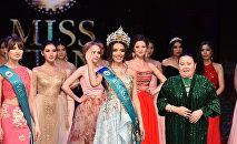 Победительница конкурса Мисс Астана - 2018 Еркеназ Сейфулла
