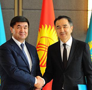Премьер-министры Казахстана и Кыргызстана e621b3d7787