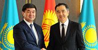Қазақстан және Қырғызстан премьер-министрлері