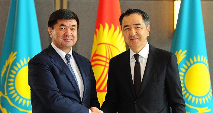 Премьер-министры Казахстана и Кыргызстана