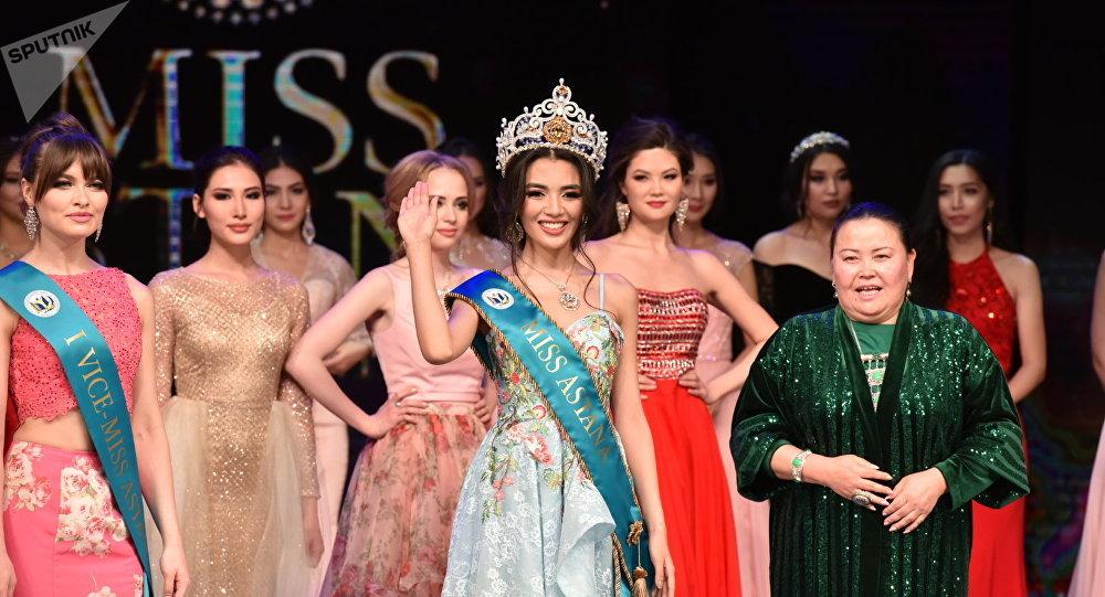 Астана аруы-2018 сұлулық байқауының жеңімпазы 17 жастағы Еркеназ Сейфолла