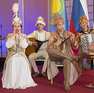 Прием в посольстве Казахстана в России по случаю Дня независимости