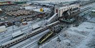 Кадры с места крушения поезда в Анкаре