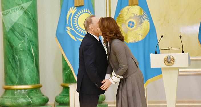 Нұрсұлтан Назарбаев пен Әлия Назарбаева