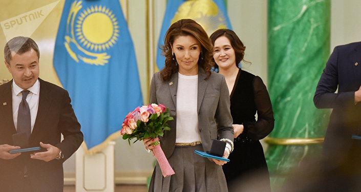 Әлия Назарбаева әдебиет пен өнер саласындағы мемлекеттік сыйлыққа ие болды